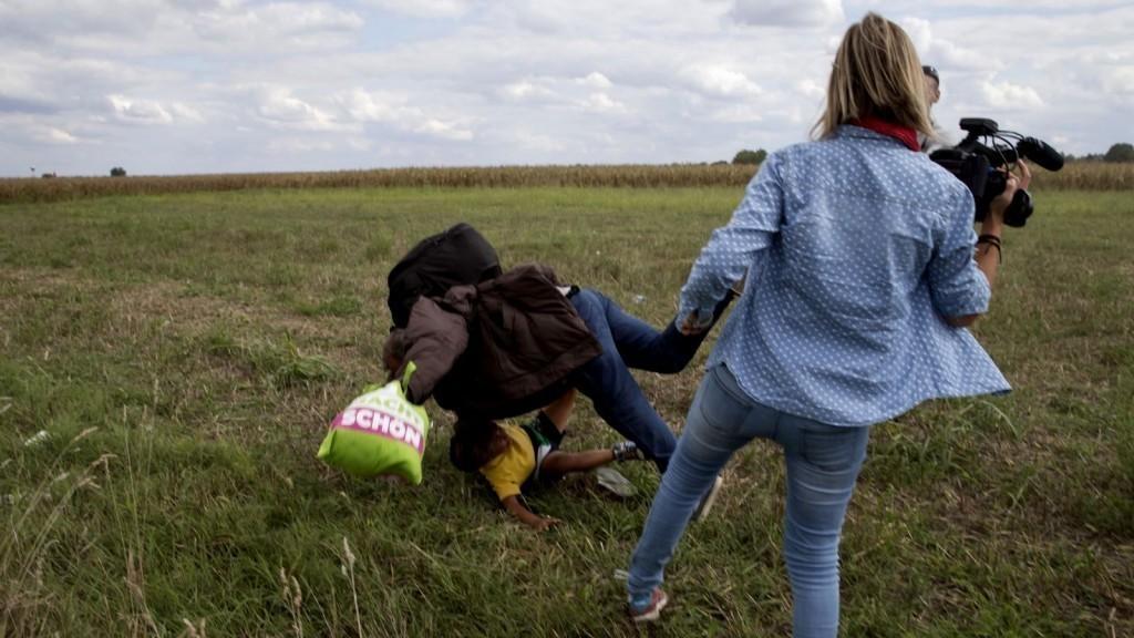 Megkegyelmezett a menekültrugdaló László Petrának a Kúria