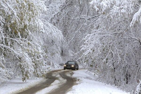 Itt a tél: az Időkép már arról ír, hogy hol havazhat