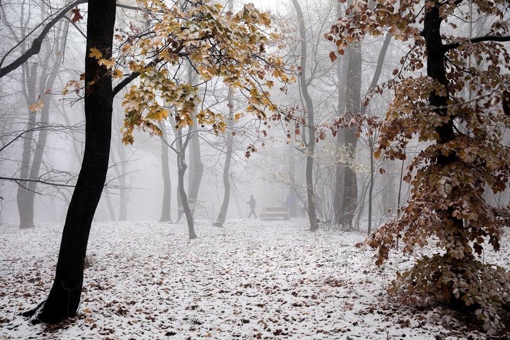 Havazás Budapesten.