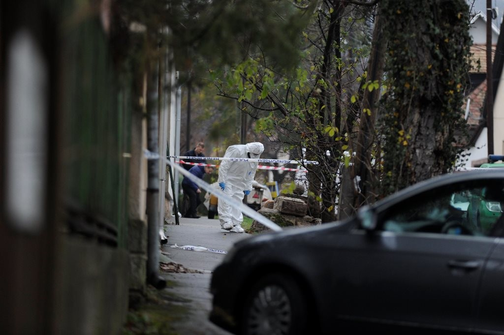 Lelőttek egy nőt a III. kerületben 2018. november 21-én.