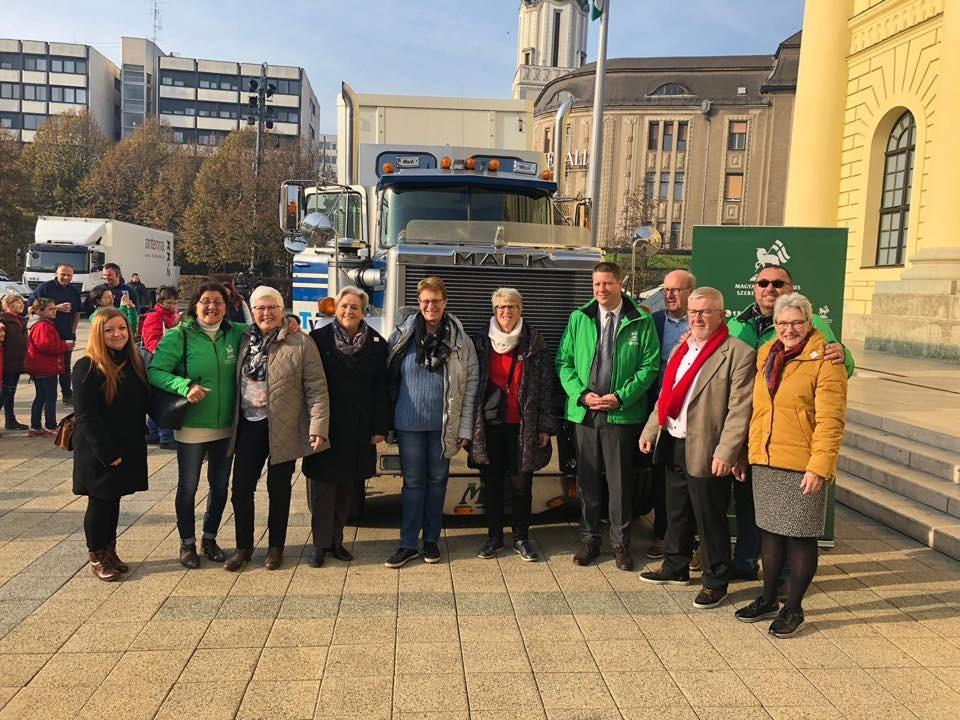 200 kamion adományt hozott már egy holland alapítvány a magyar rászorulóknak