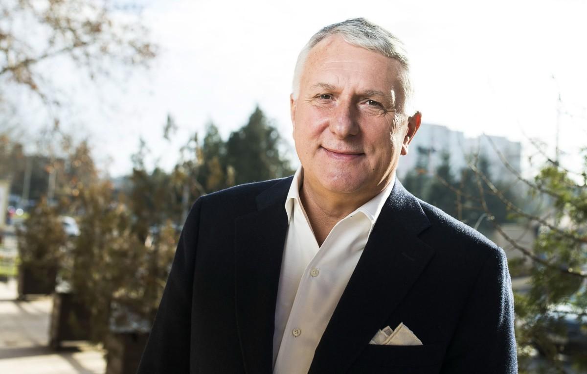 Bige László, a Bige Holding Csoport tulajdonosa Nyíregyházán 2014. december 23-án.