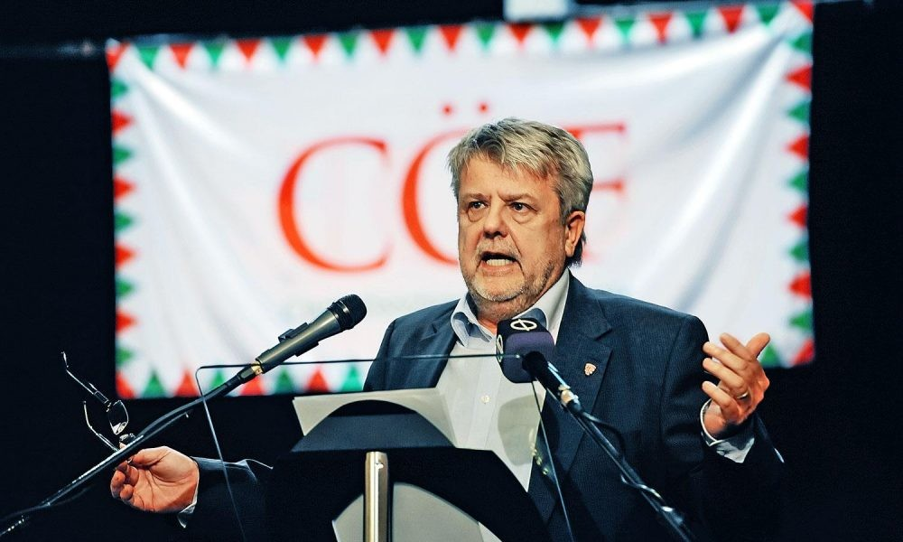 Csizmadia László, a Civil Összefogás Fórum (CÖF) elnöke.