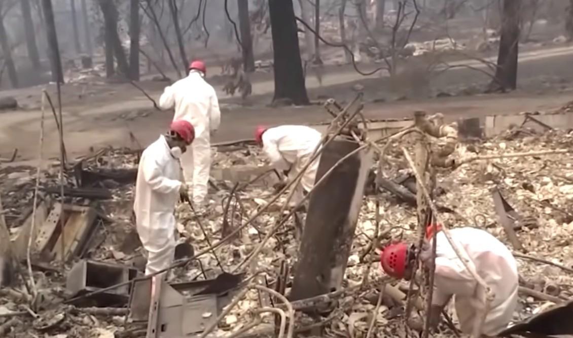 Kaliforniai tűzvész: már 1300 eltűntről nem tudnak semmit