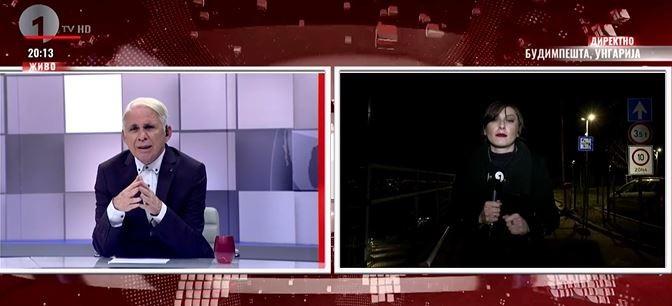 Elment Orbán házához a macedón tévé