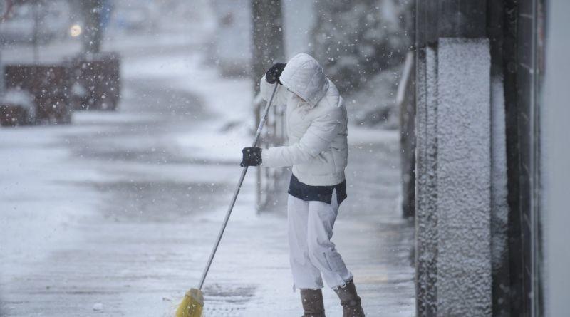 12 megyére adtak ki figyelmeztetést havazás miatt
