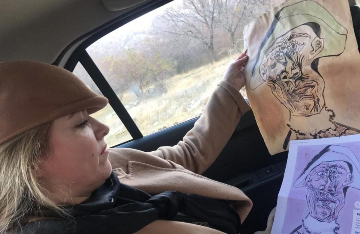 Elásott festmény találtak Romániában, vélhetően egy Picasso-képet