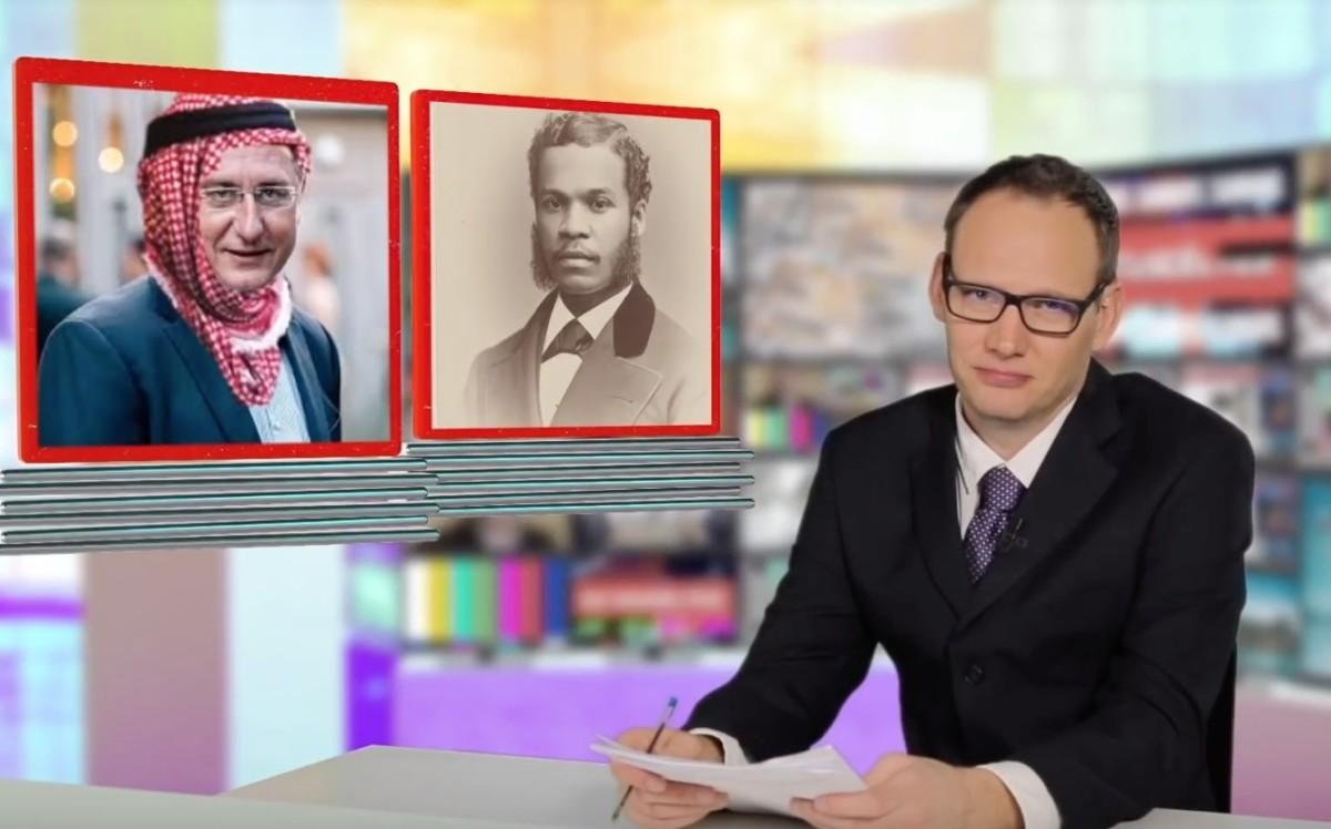 Bödőcs Tibor szilveszteri híradója a lakájmédiát parodizálja