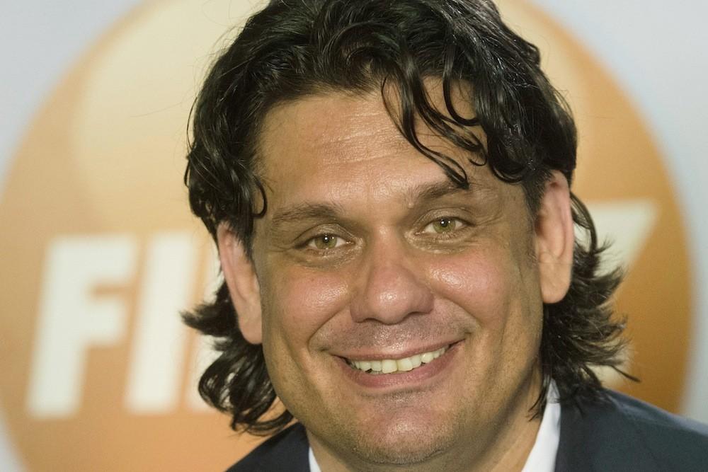 Deutsch Tamás, Fidesz-KDNP megválasztott európai parlamenti képviselője a pártszövetség eredményváróján Budapesten, a Millenárison az európai parlamenti választás napján, 2014. május 25-én.