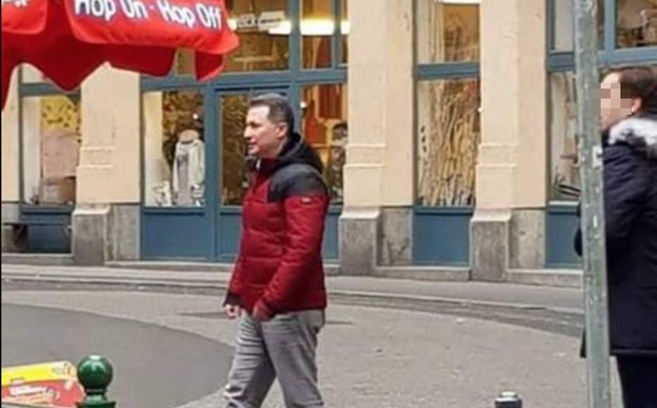 Lefotózták Gruevszkit, még mindig Budapesten kujtorog