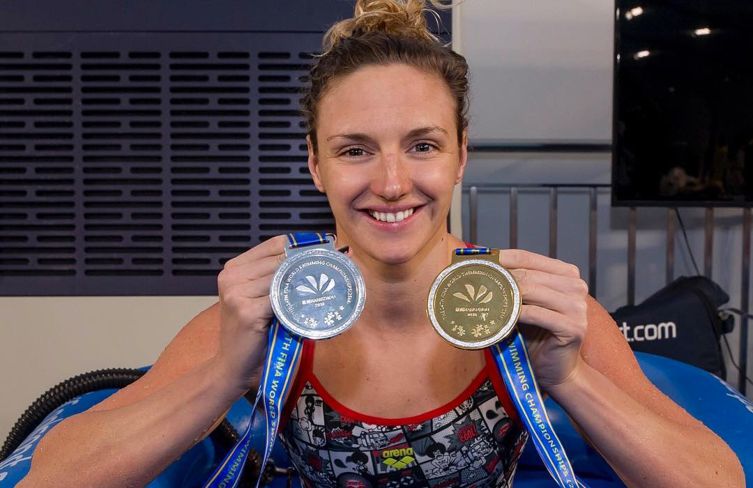 Hosszú Katinka lett az év női úszója