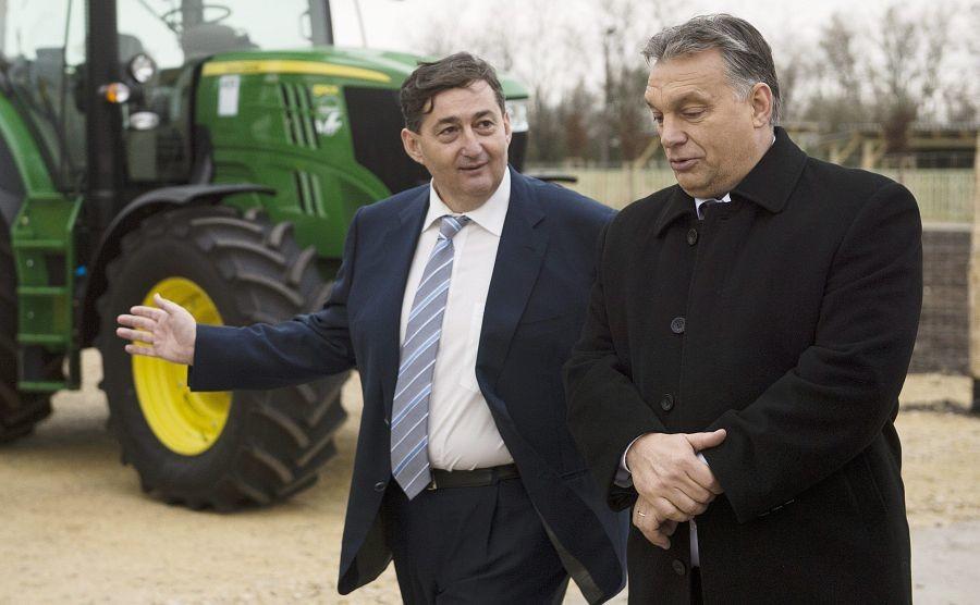 15 milliárd forint áramlott munkahelyteremtésre Mészáros Lőrinc érdekköréhez