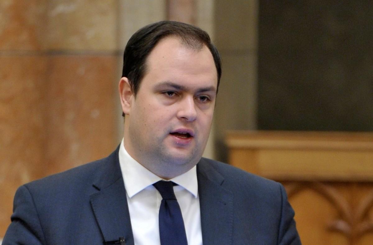 Nacsa Lőrinc kereszténydemokrata képviselő felszólal az Országgyűlés plenáris ülésén 2018. december 11-én.