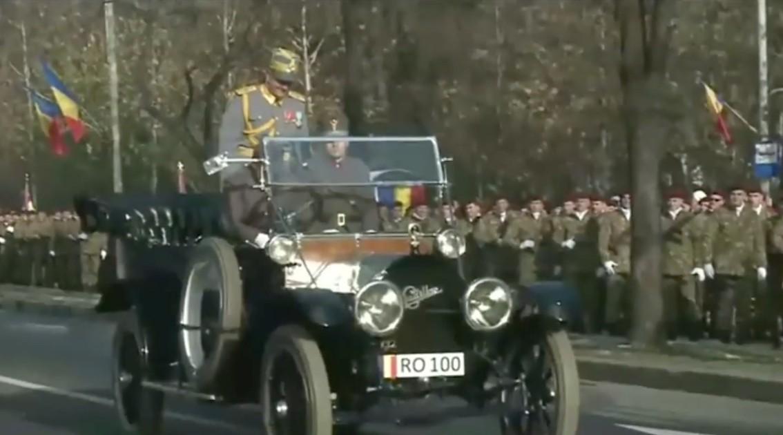 Egyetlen tökéletes videón a hétvégi román katonai felvonulás