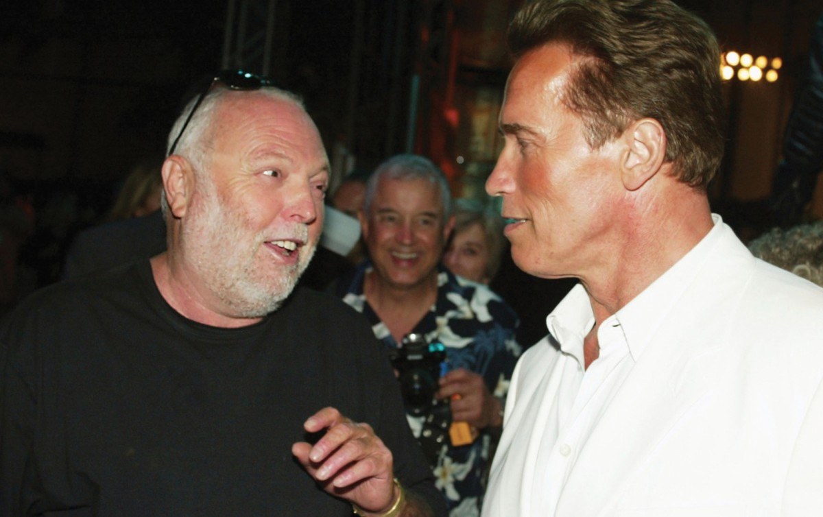 Schwarzenegger is elköszönt Andy Vajnától