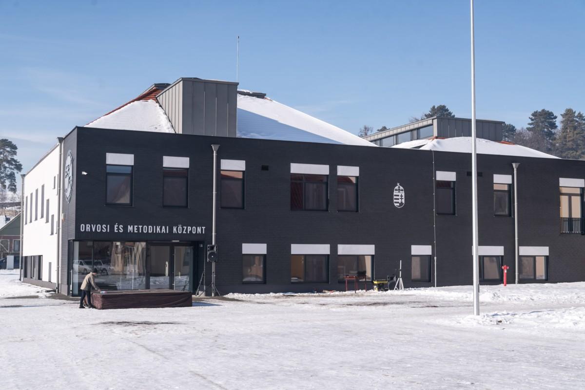 A Székelyföldi Jégkorong Akadémia orvosi és metodikai központja az erdélyi Csíkkarcfalván 2019. január 18-án.