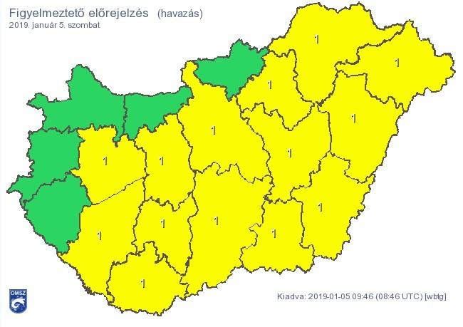 Kép: Országos Meteorológiai Szolgálat