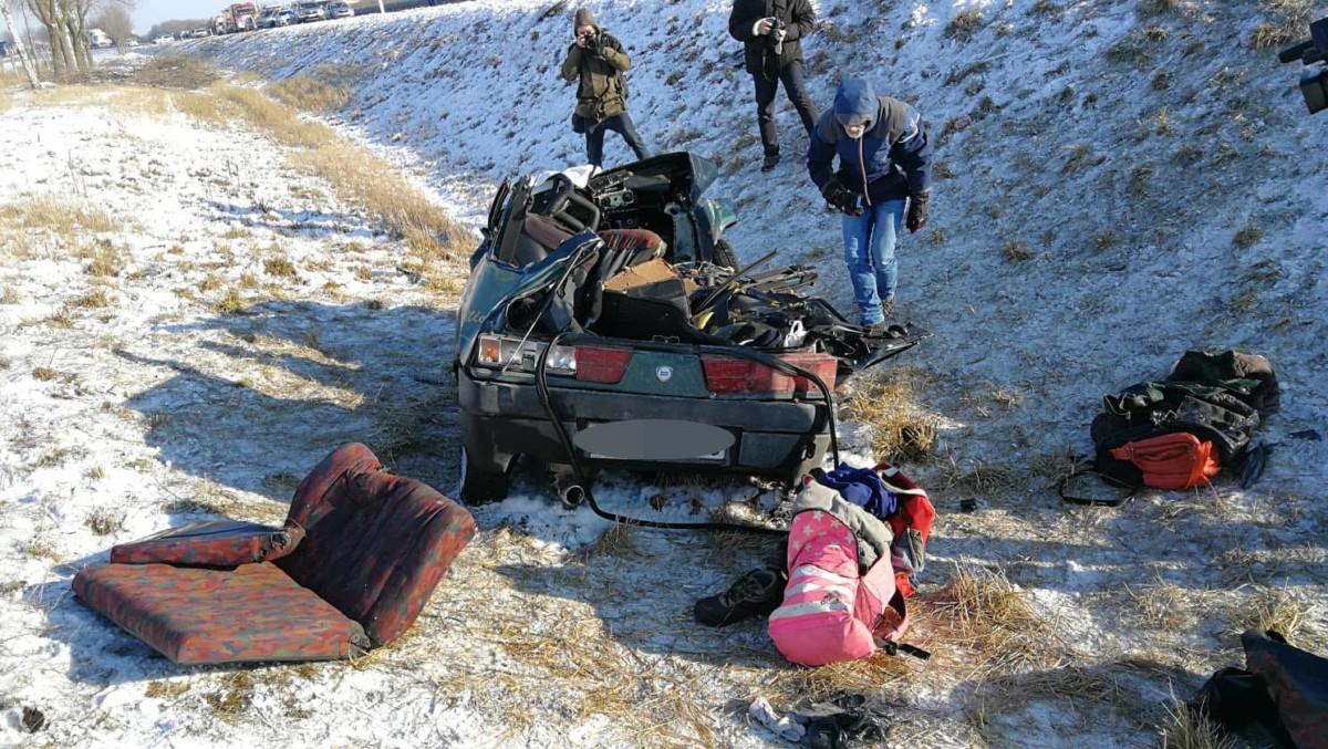 Tömegbaleset az M3-as autópályán, többen meghaltak