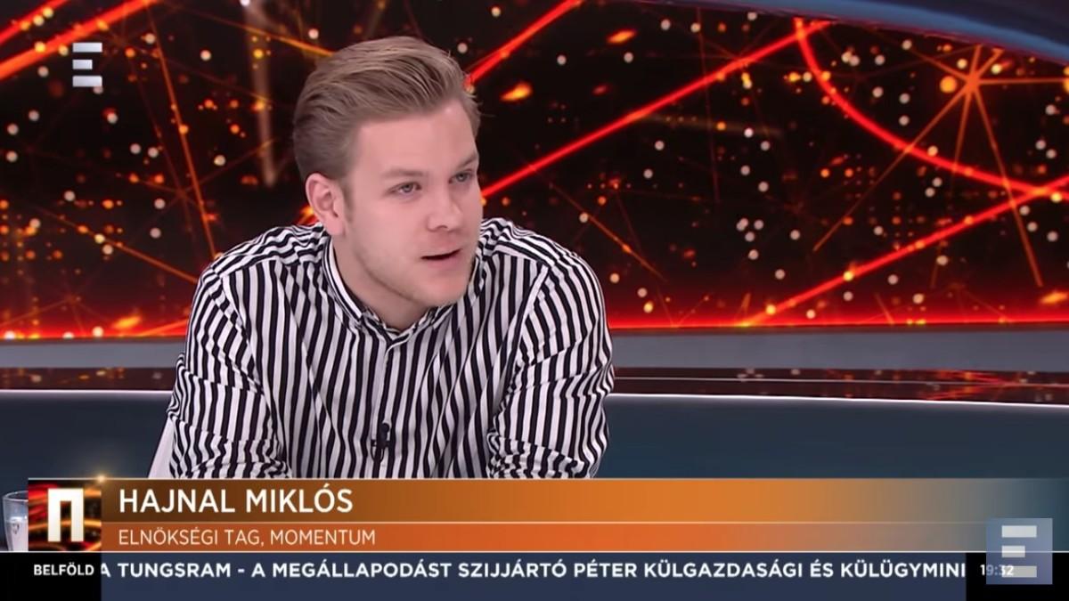 Adás közben hagyta faképnél az Echo TV műsorát a momentumos Hajnal Miklós