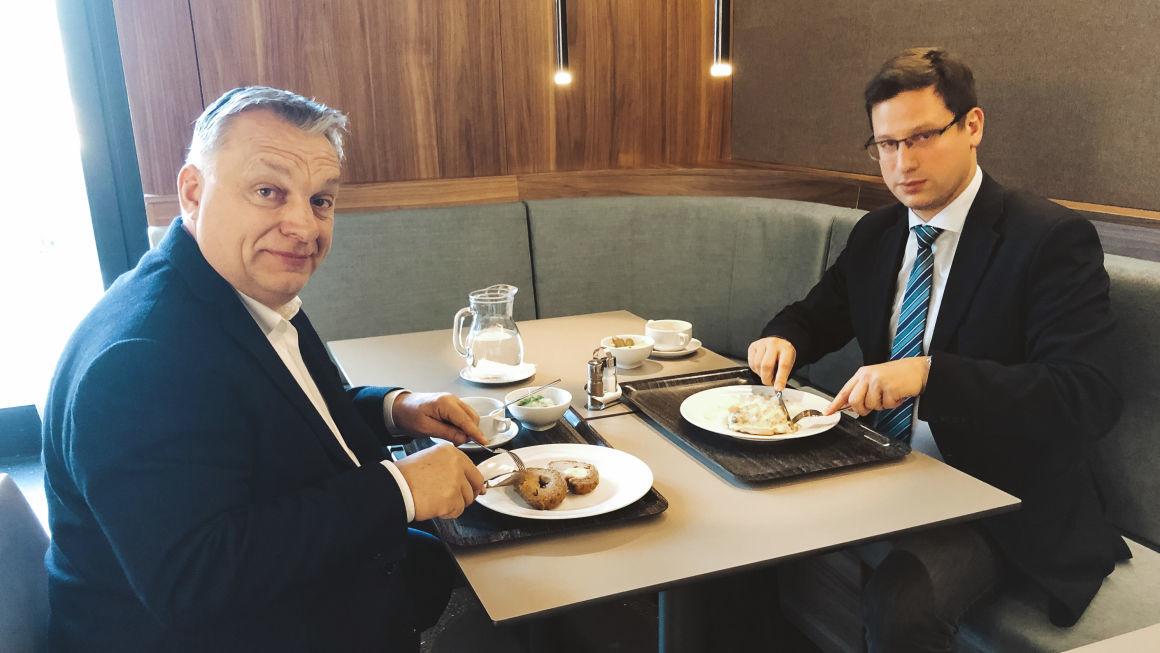 Fotókkal bizonygatják Orbánék, hogy milyen puritán a Gundel menzája