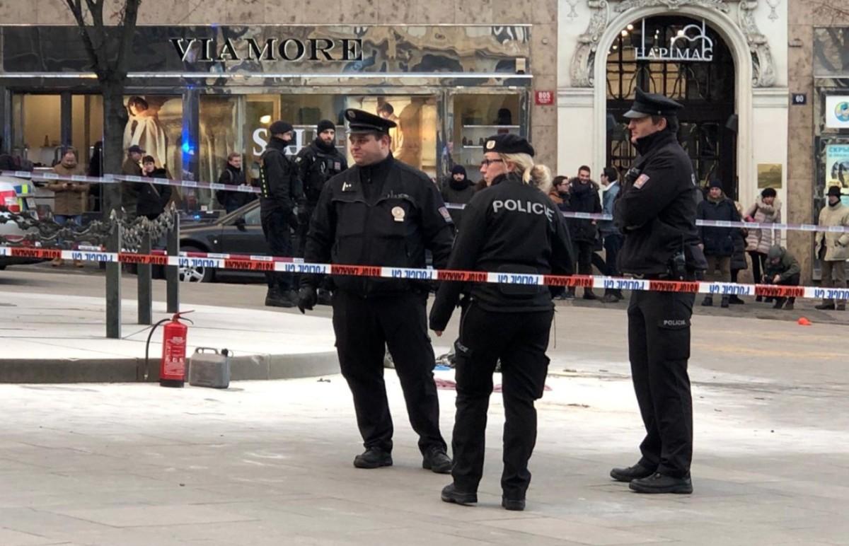 Felgyújtotta magát egy férfi Prága központjában