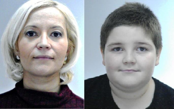 Az eltűnt anya és fia.