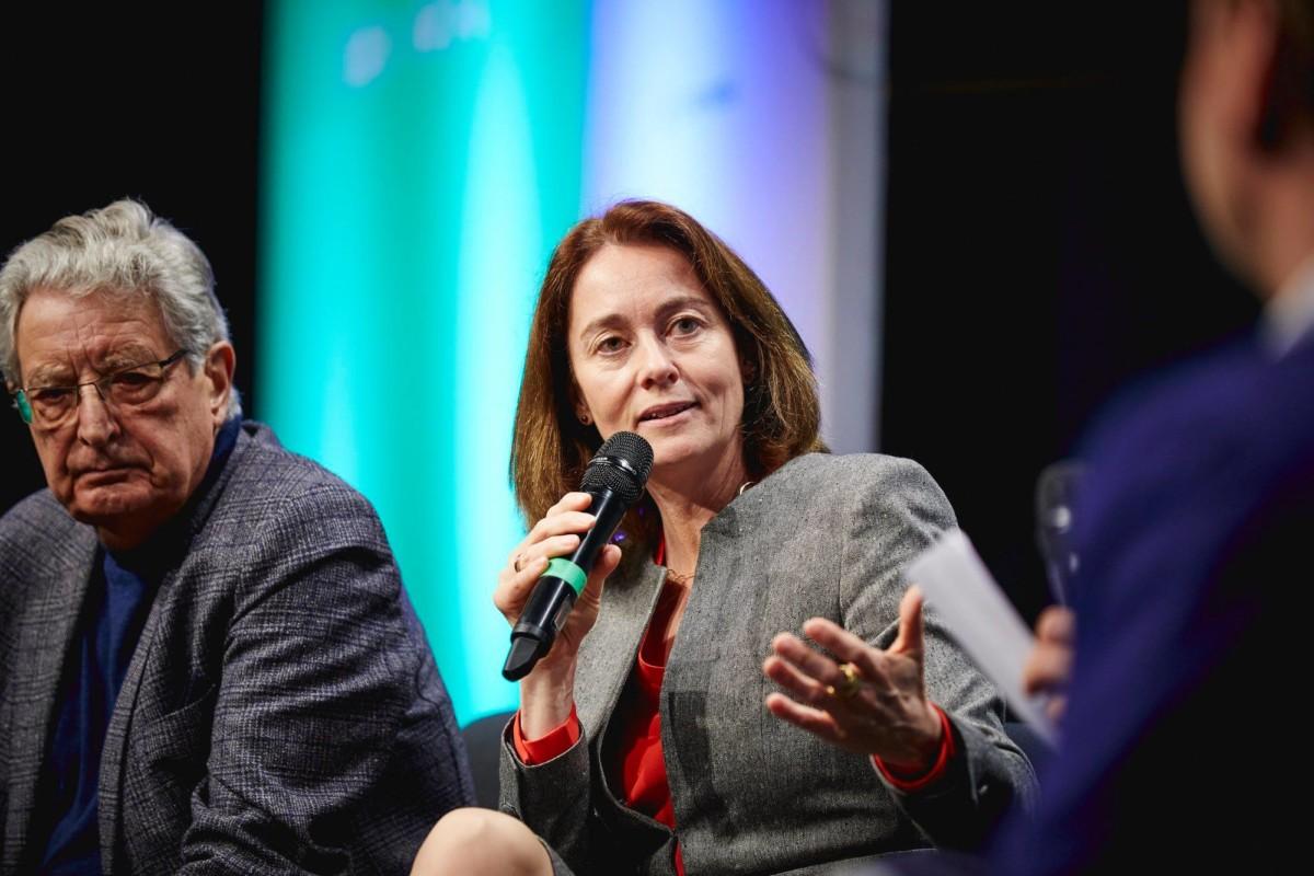 Katarina Barley, az SPD EP-listavezetője.
