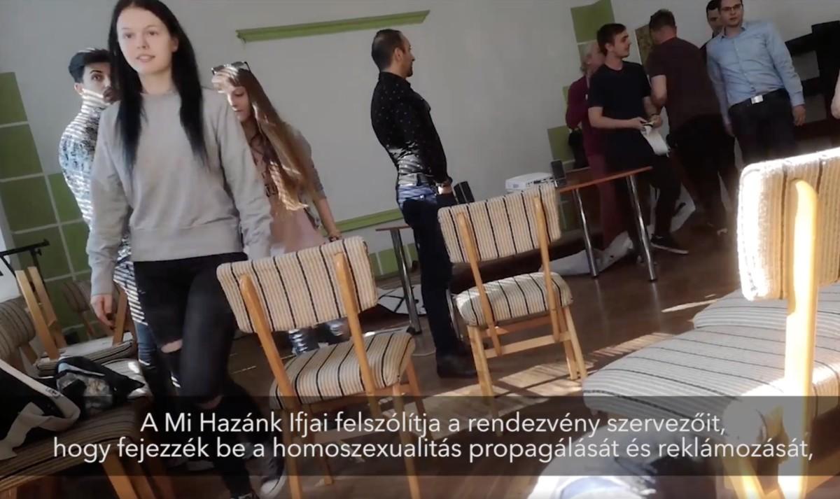 Rátámadtak a Mi Hazánk Mozgalom ifjúsági aktivistái egy roma és meleg emberekről szóló rendezvényre