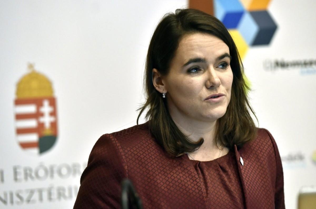 Novák Katalin szerint már Amerika is a magyar családtámogatási rendszert másolná