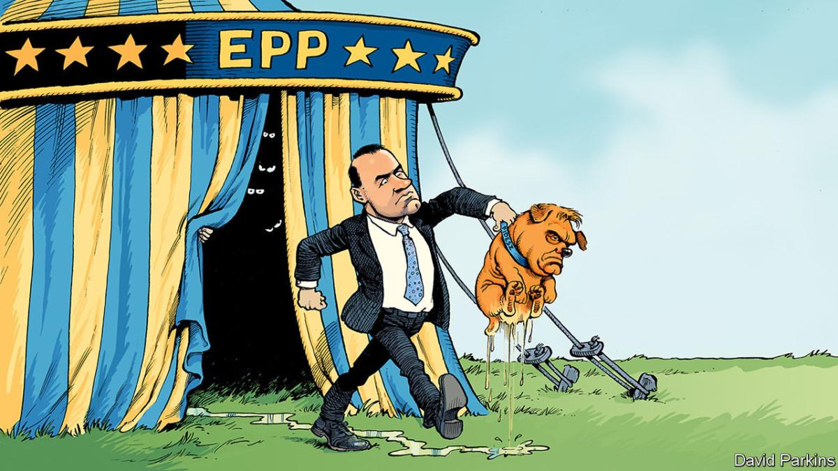 Bepisált kutyaként ábrázolta Orbánt az Economist karikaturistája