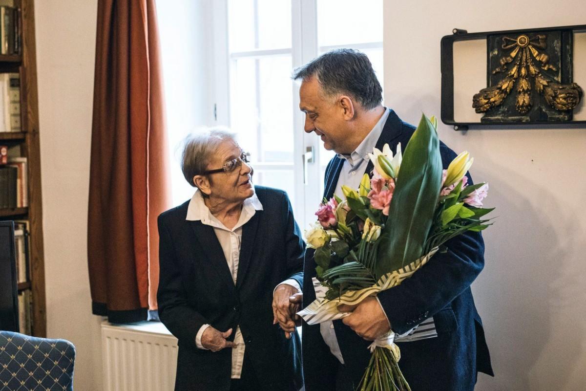 Törőcsik Mari elárulta, hogy mit érzett, amikor Orbán Viktor meglátogatta