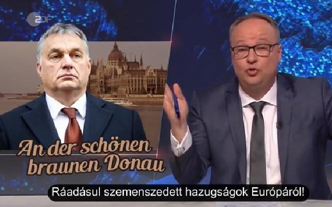 Magyar feliratot kapott az Orbánt szétoltó német köztévés videó