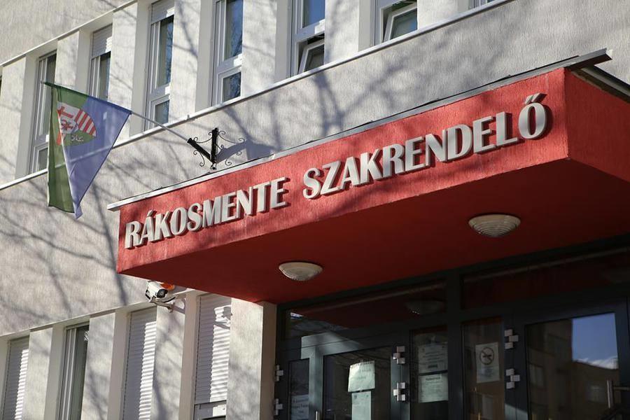 A Bajcsy-Zsilinszky Kórház és Rendelőintézet XVII. kerületi Rákosmente szakrendelője.