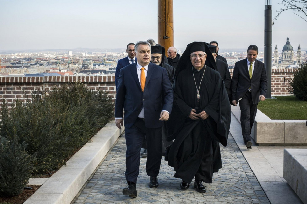 Orbán Viktor és Jusszef Abszi Budapesten.
