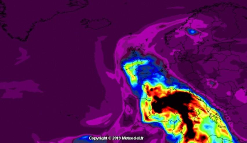 Évek óta nem látott porvihar vonul át Magyarországon