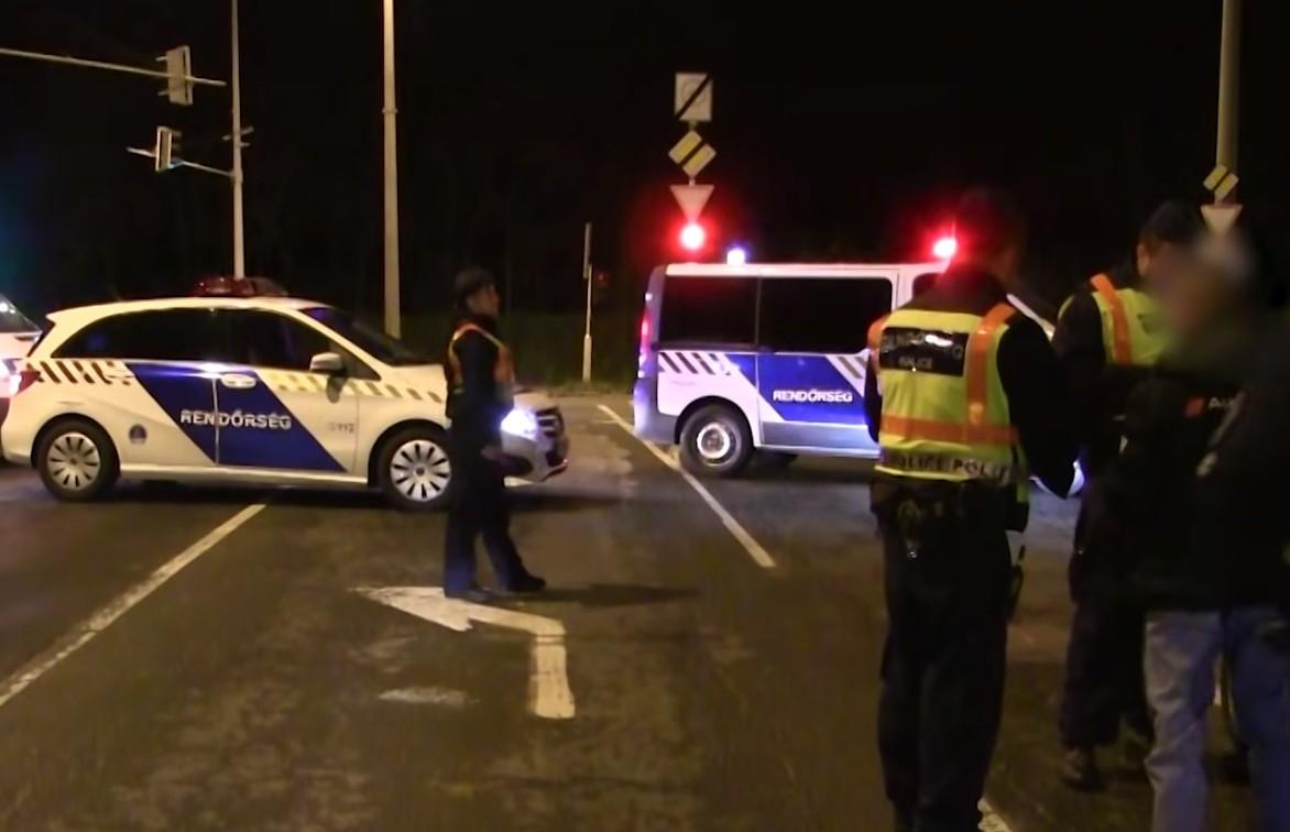 Illegális gyorsulási versenyre csapott le a rendőrség Újpesten