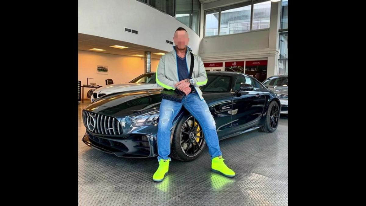 41 milliós Mercedes-AMG-vel lepte meg magát M. Richárd