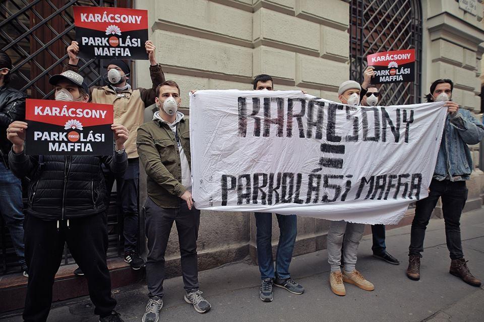 Puzsér-aktivisták trollkodták meg Karácsony Gergely kampányindító beszédét