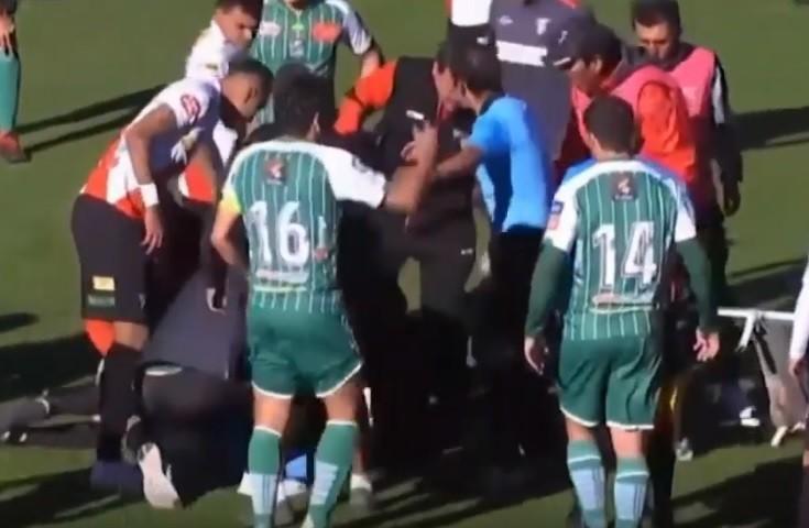 Összeesett a meccsen, és meghalt egy fiatal focibíró Bolíviában