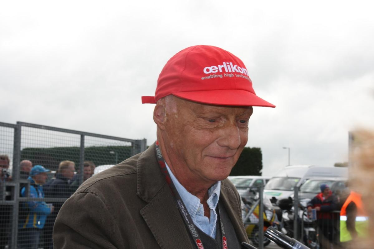 Meghalt Niki Lauda háromszoros Forma-1-világbajnok
