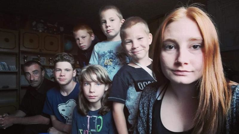 Ferenc és a gyermekek.