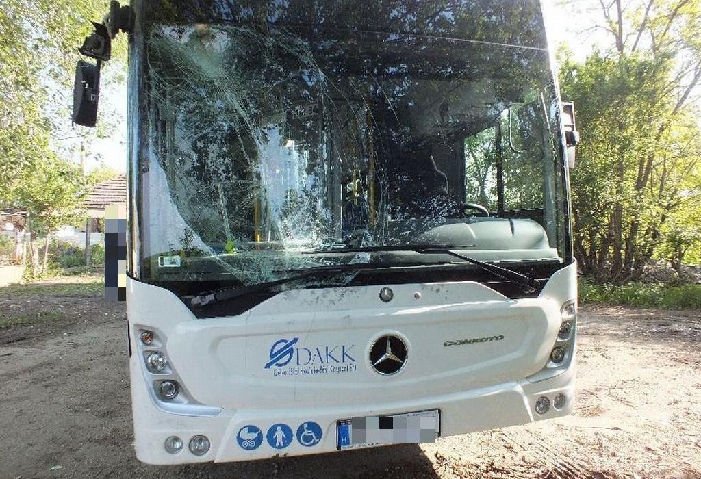 Megvan a srác, aki ellopott és összetört egy buszt Szegeden