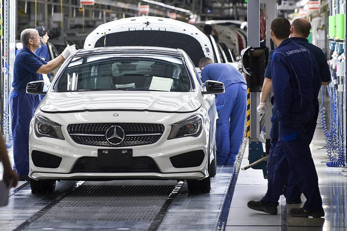 A kecskeméti Mercedes gyár is leáll