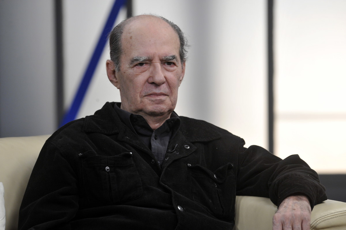 Horváth Ádám rendező a Hogy volt!? című tv-műsor felvételén, az MTVA Kunigunda utcai gyártóbázisának 7-es stúdiójában 2014. március 5-én.
