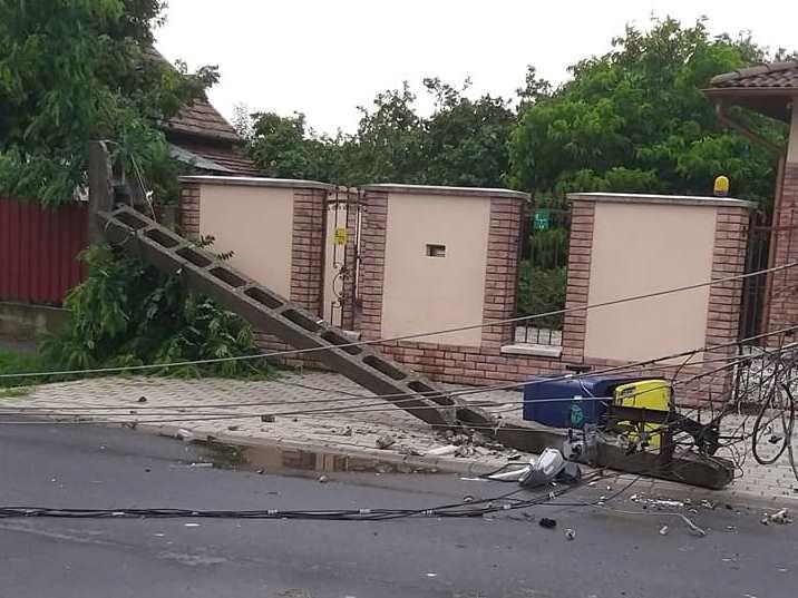 Döbbenetes pusztítással vonult a csütörtöki vihar