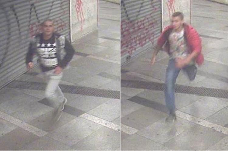 Kifosztás a Blaha Lujza téri villamosmegállóban - őket keresik a rendőrök.