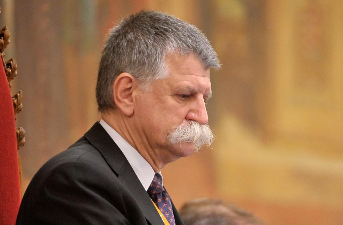 Kövér László házelnök az Országgyűlés plenáris ülésén 2019. július 1-jén.