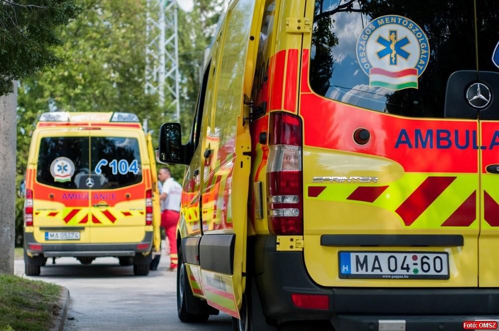 Öt órán át vitt a mentő egy frissen műtött szívbeteg férfit