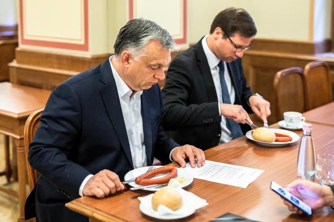 Orbán Viktor fontos üzenete a magyarokhoz: ezt reggeliztem ma