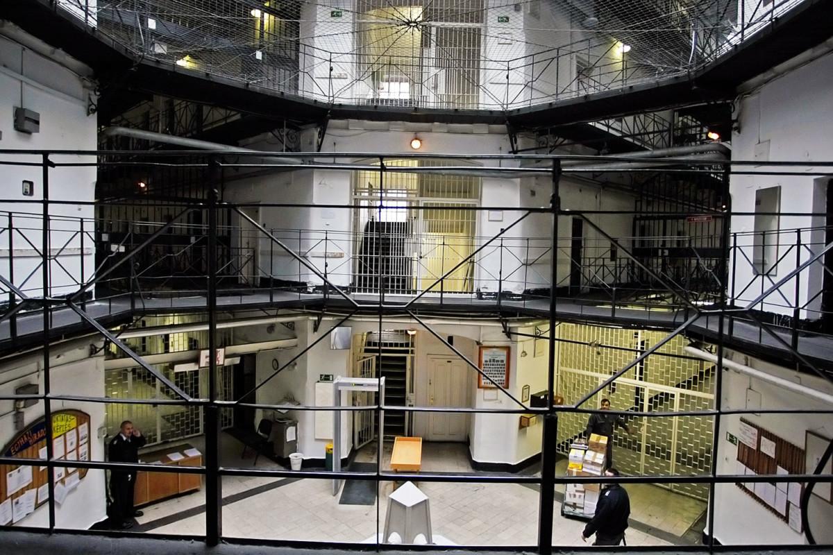 A Szegedi Fegyház és Börtön.